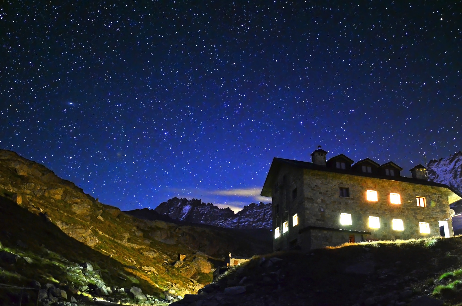 Shelter under the stars...