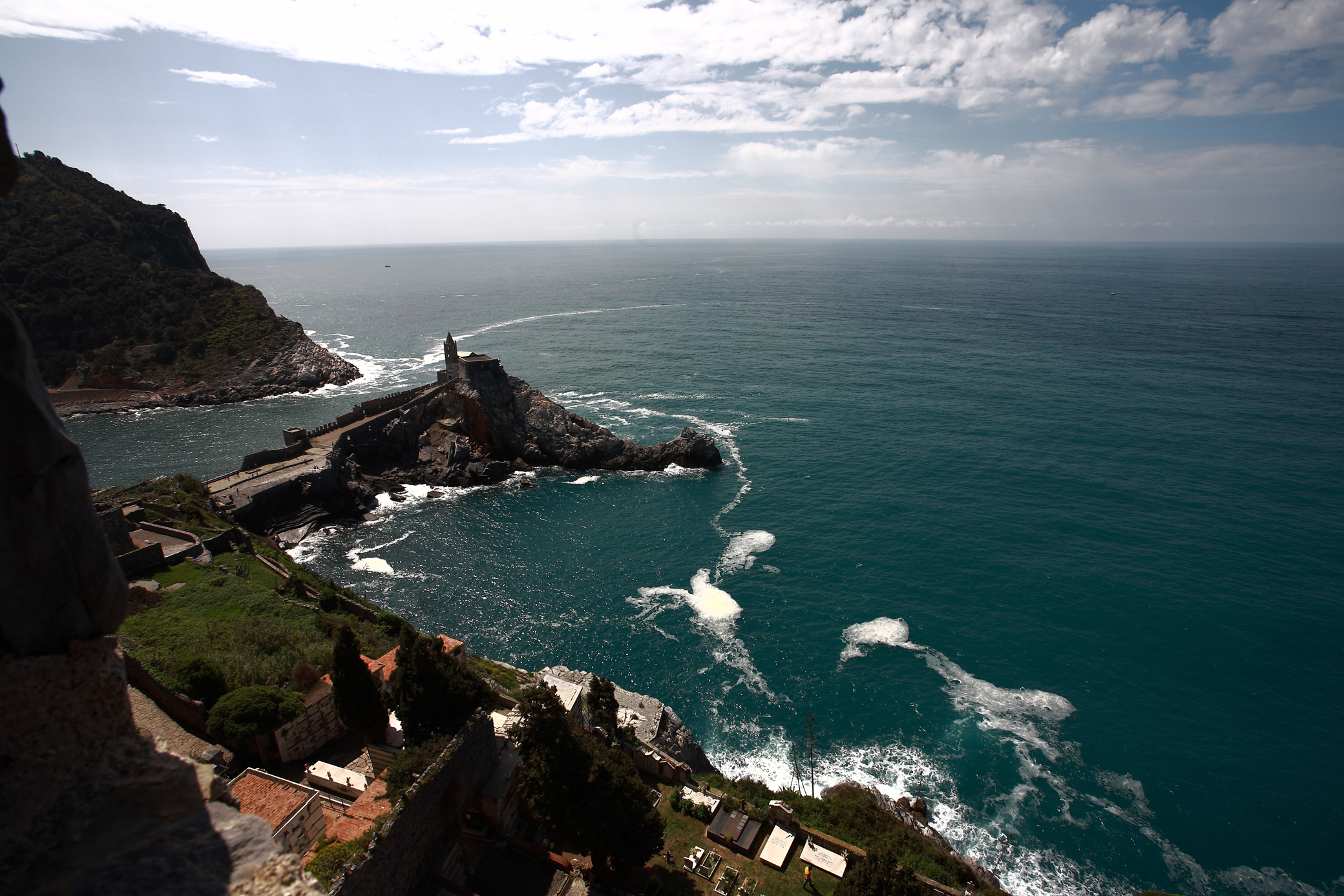 Castle of Portovenere...