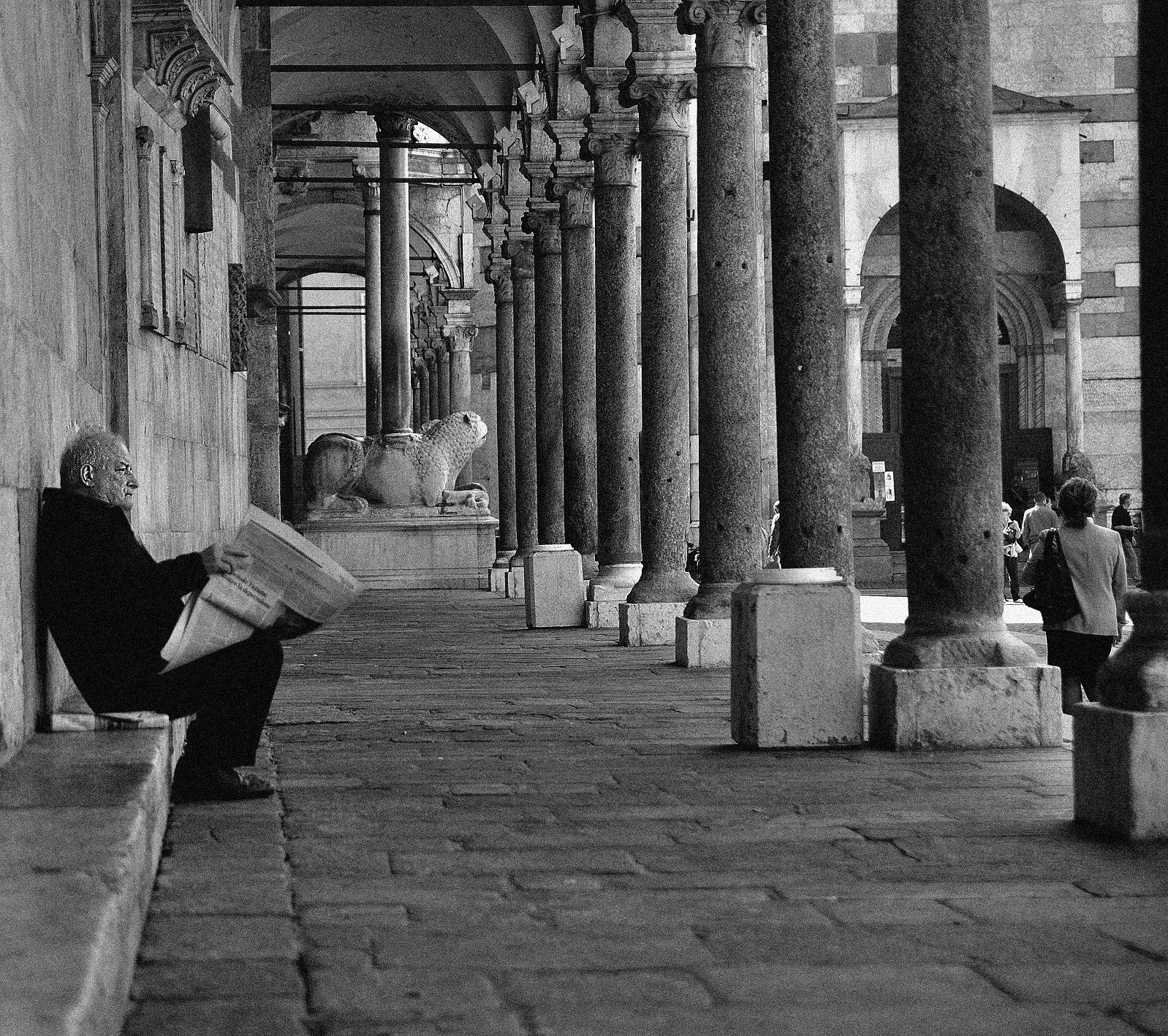 Sunday morning in Cremona...