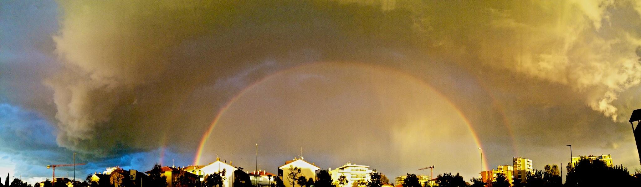 Double rainbow...
