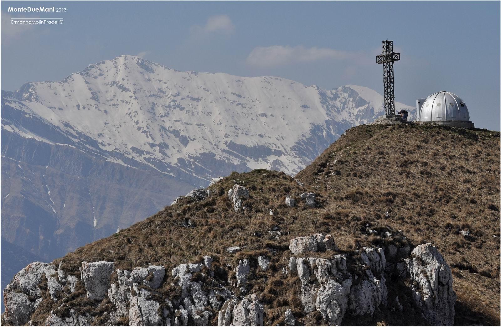 il Monte Due Mani.....