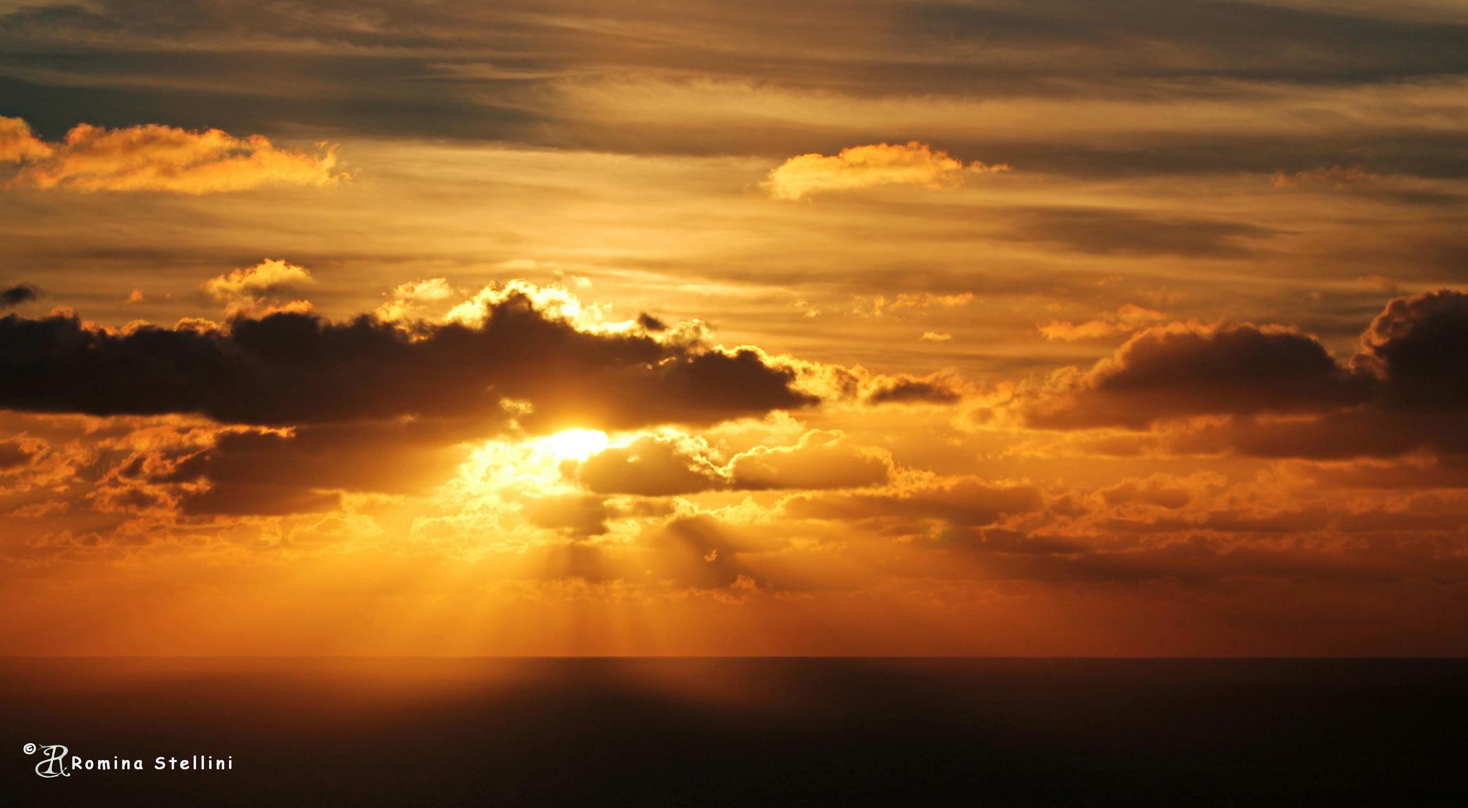 Catching the sunset, Malta...