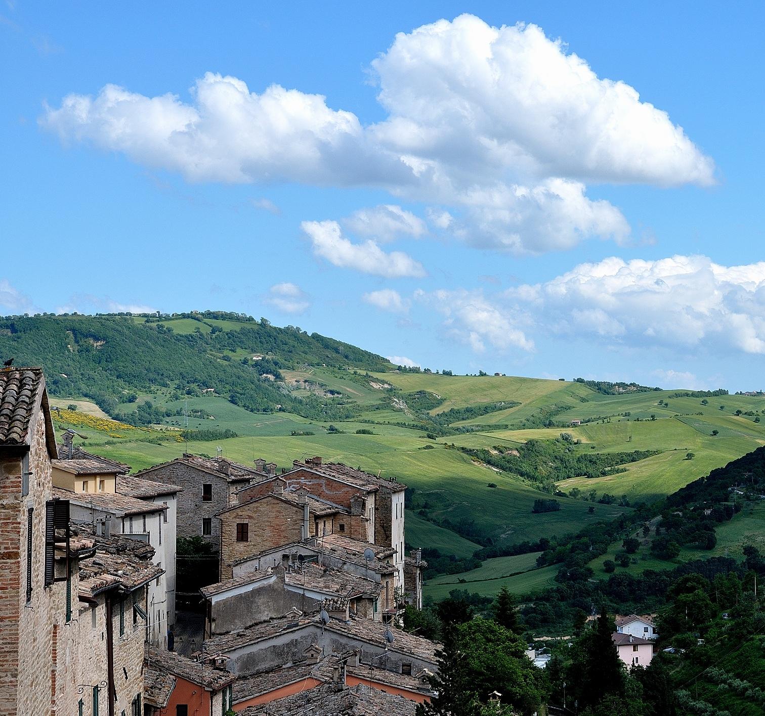 View from Serra San Quirico...