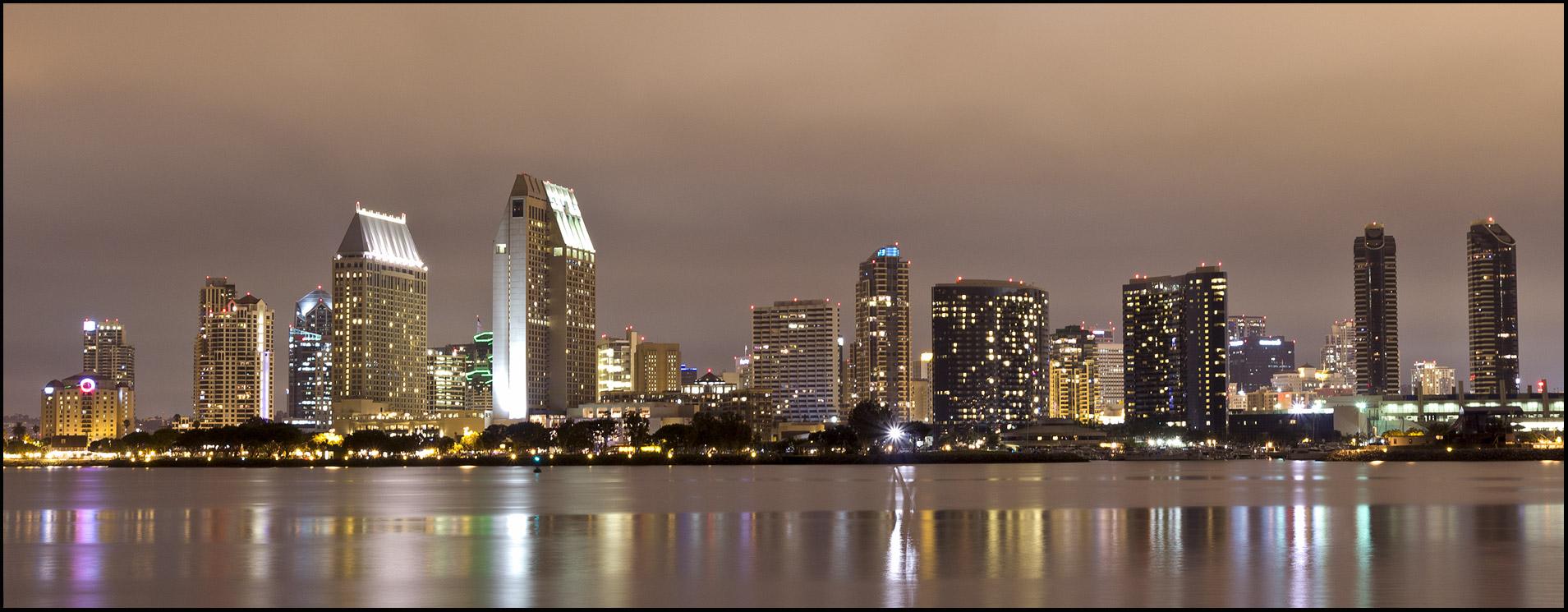 San Diego at night...