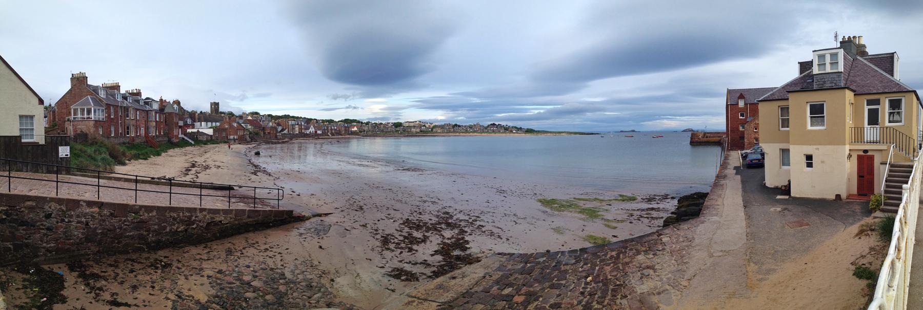 North Berwick low tide, Scotland...