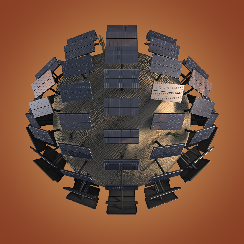 solar energy planet...