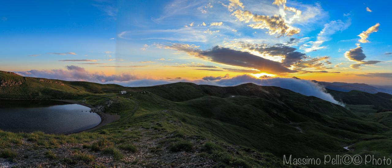 Panorama mountain Cimon...