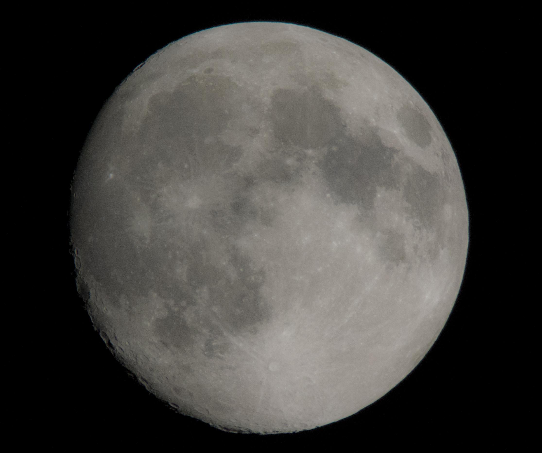 Luna del 22/06/2013...