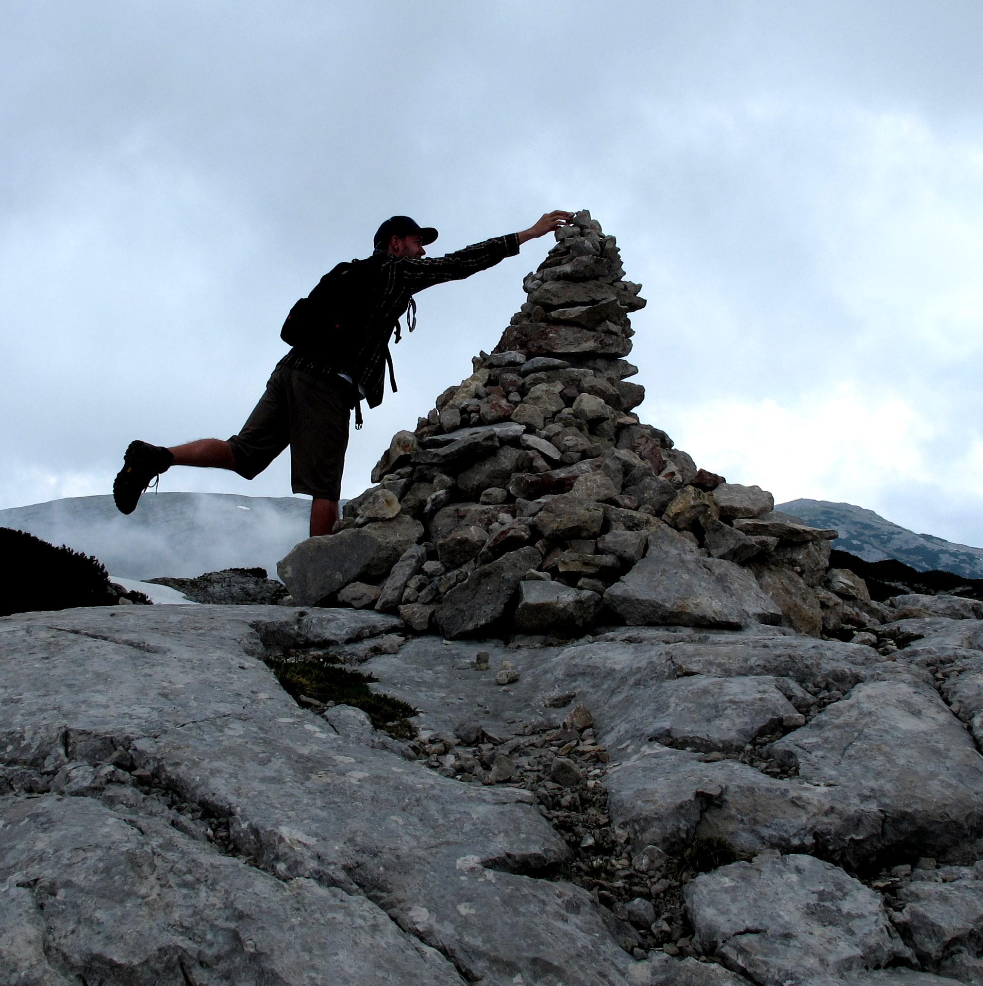 The ultimate stone (il sasso ultimo)...