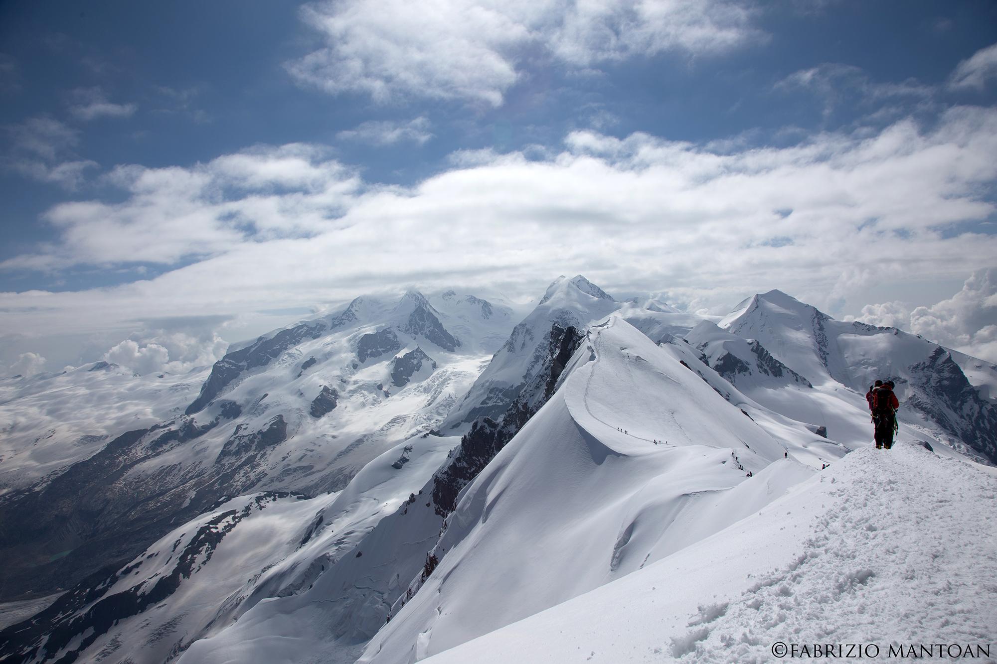 Monte Rosa, Breithorn centrale...