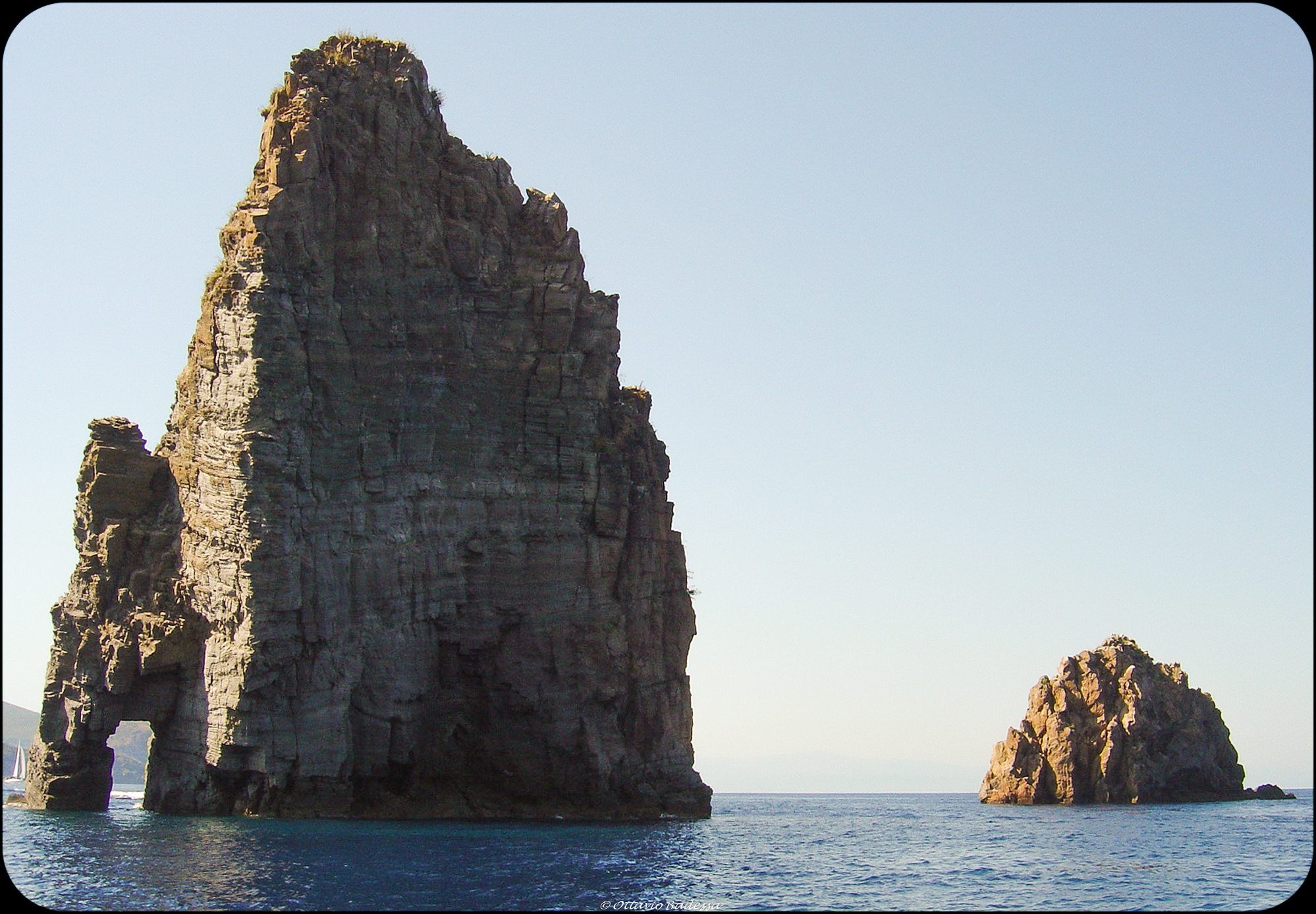 Aeolian Islands - Salina: The Stacks...
