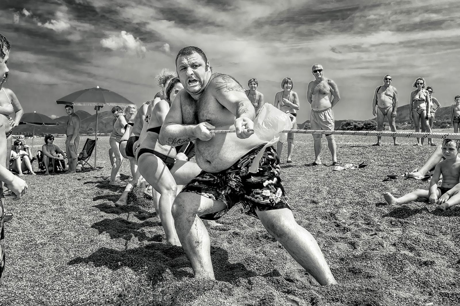 Beach games...