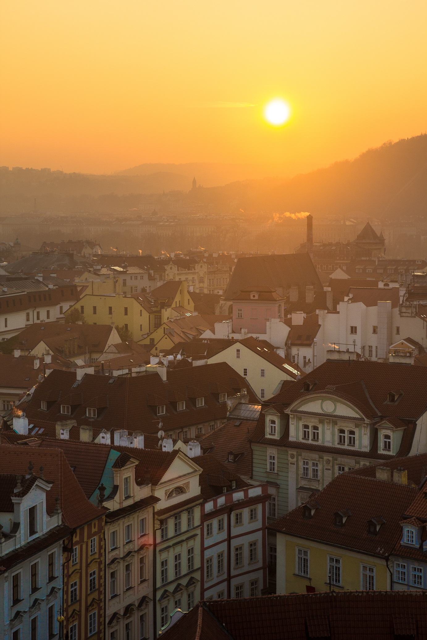 i tetti di Praga...