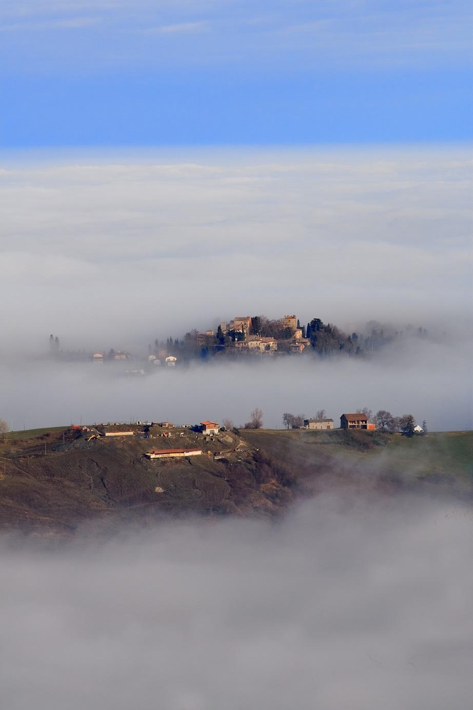 Isole nella nebbia...