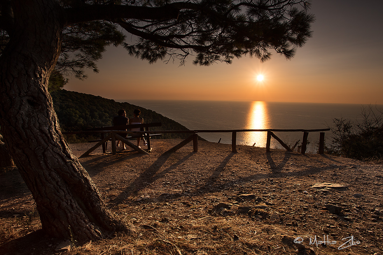 Populonia at sunset...