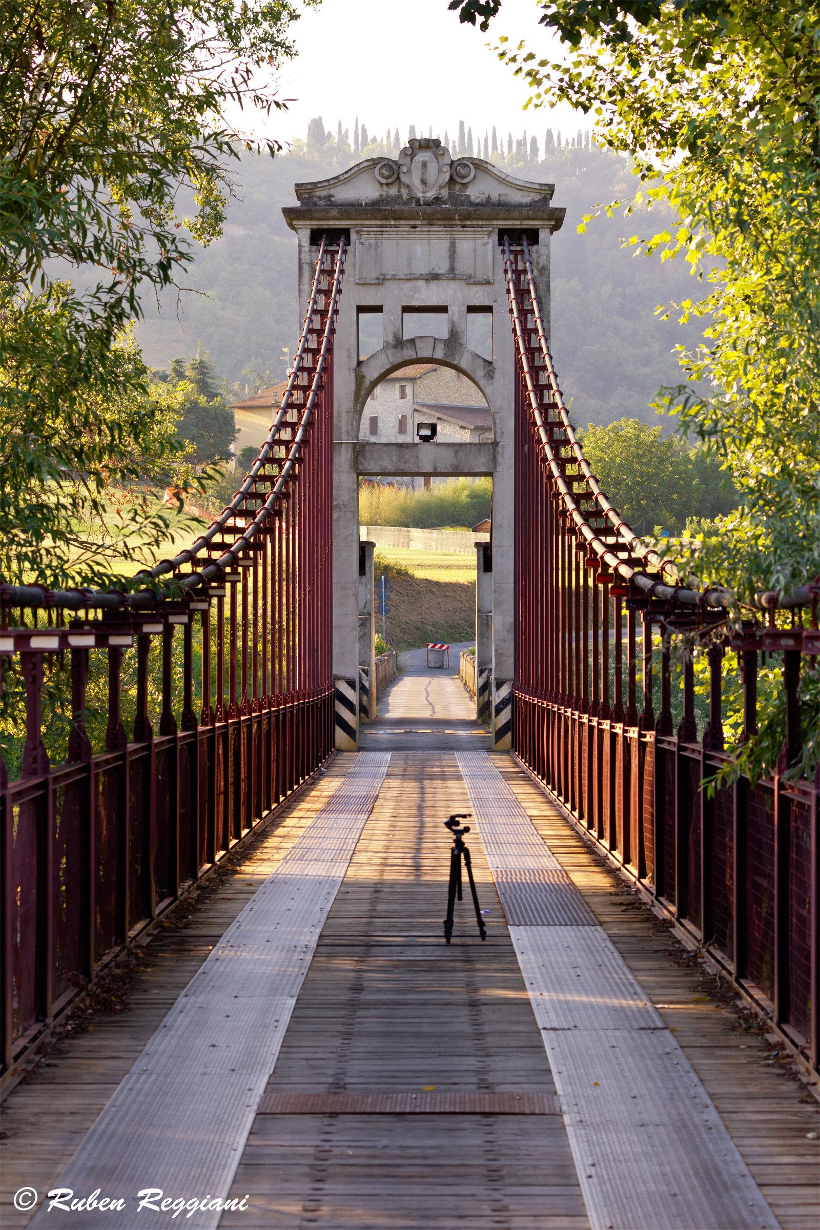Wooden bridge ... or almost...