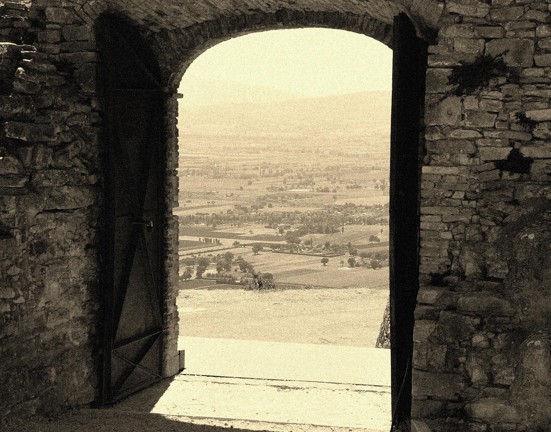 The door of the valley...