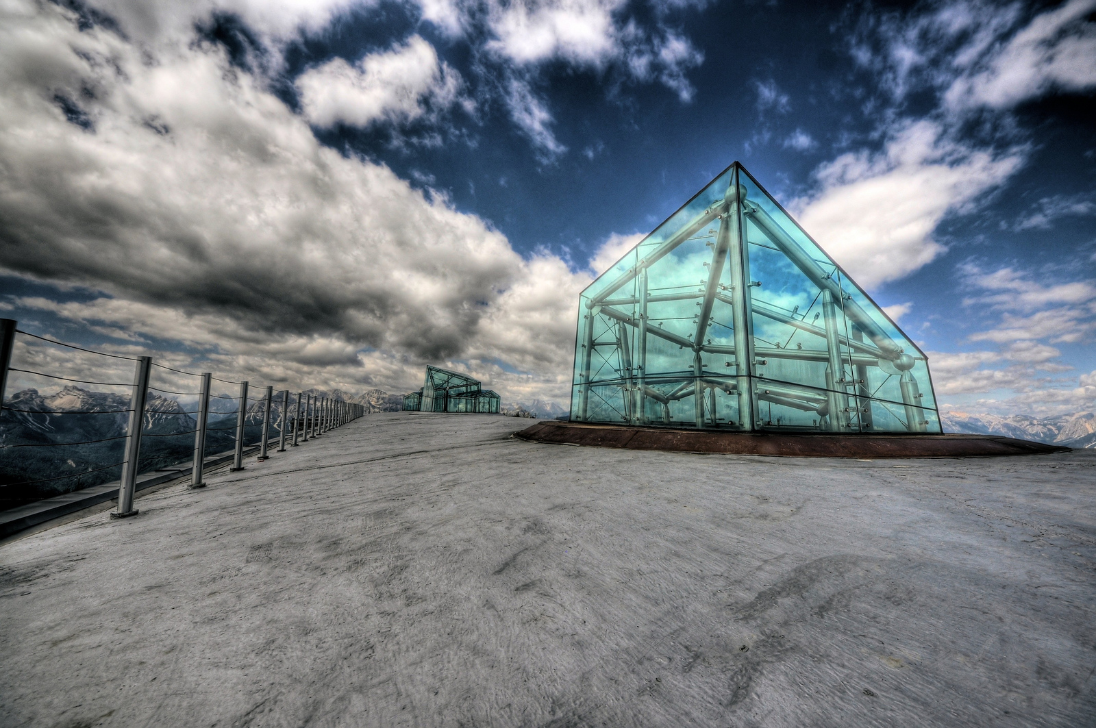 museum in the clouds...