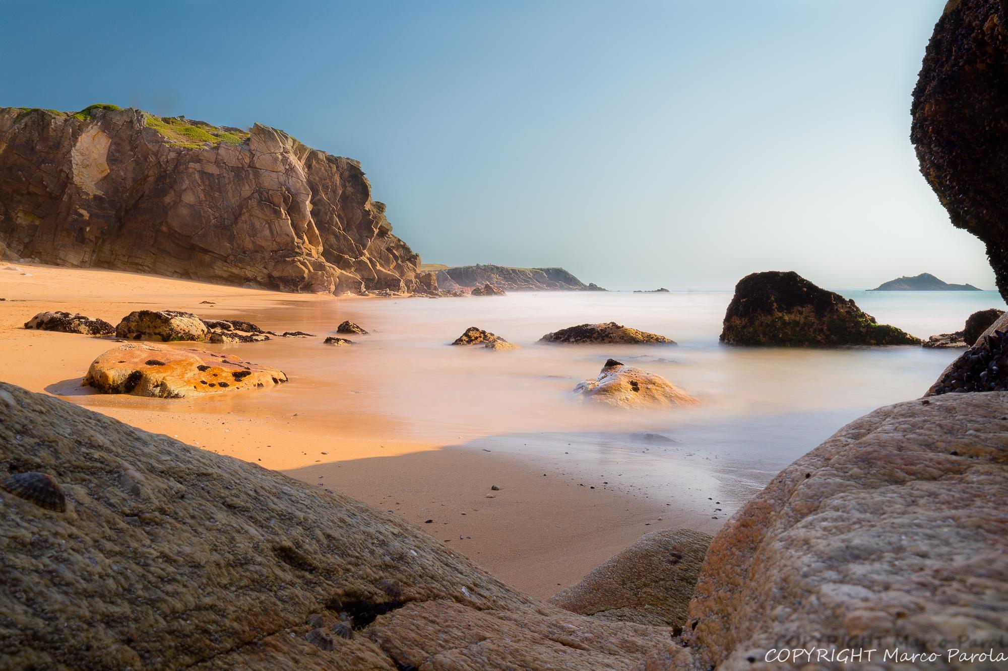 enchanted beach...