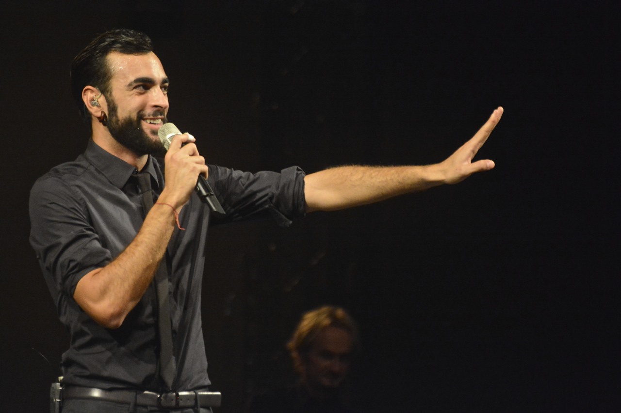 Marco Mengoni in concerto...