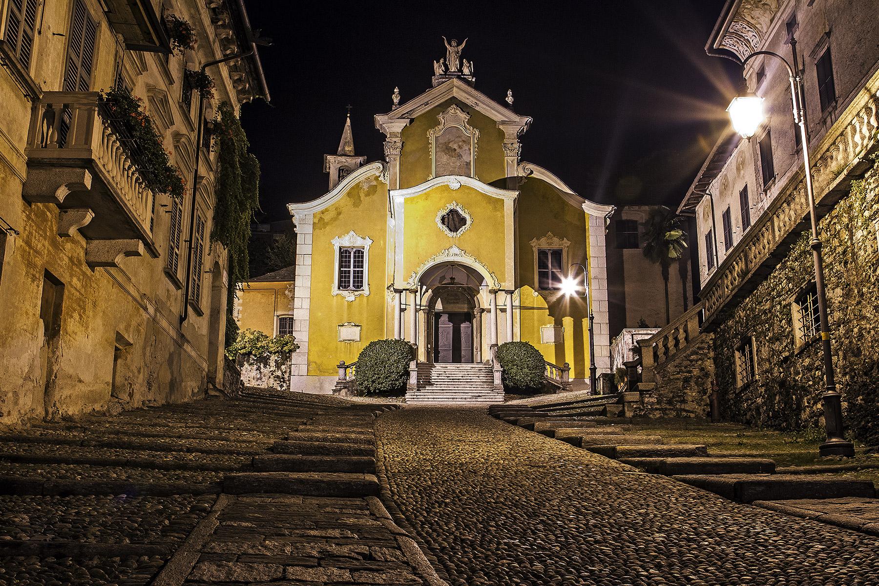 Orta San Giulio in the night ..........