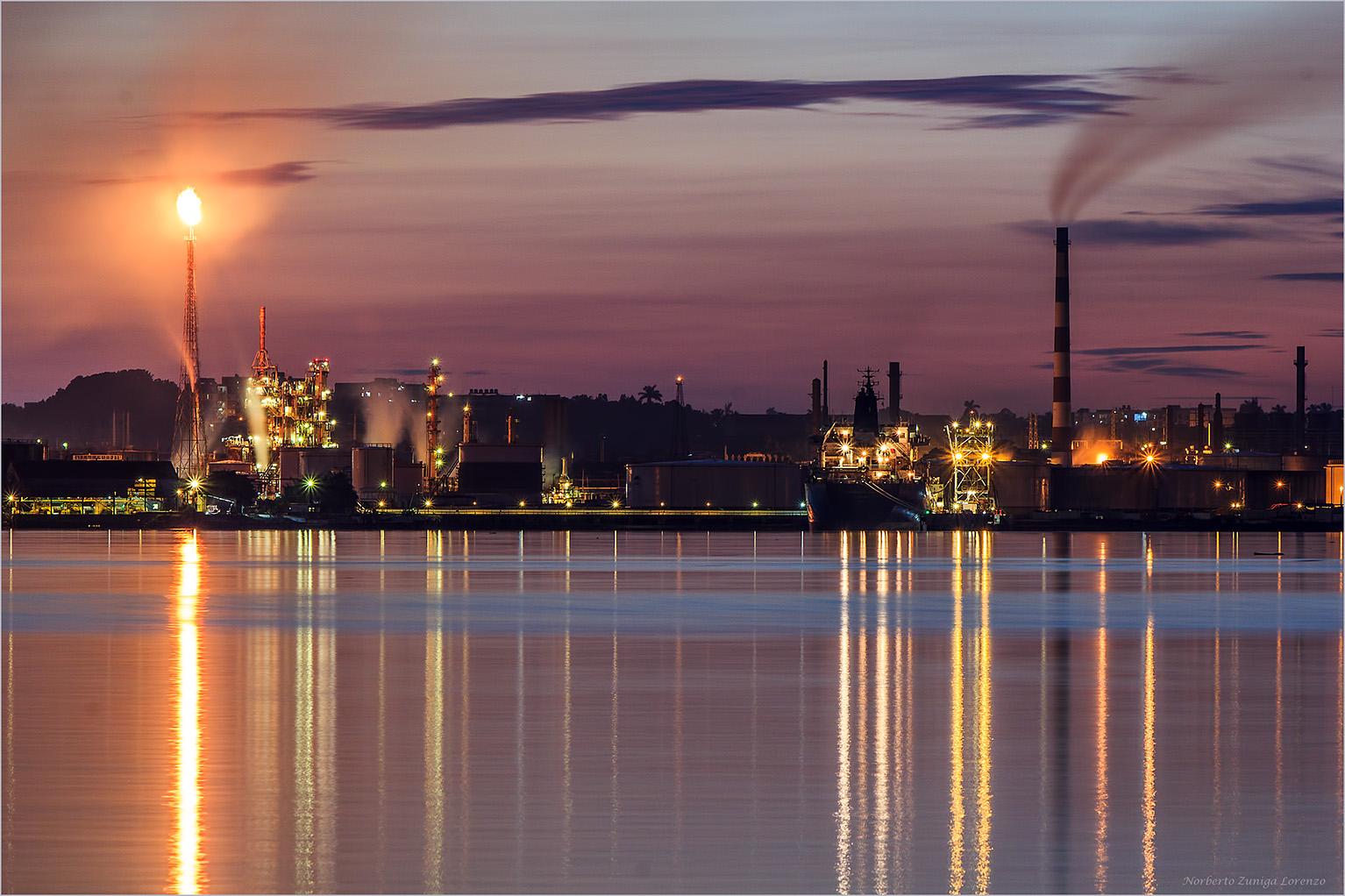 The Refineria Nico Lopez...