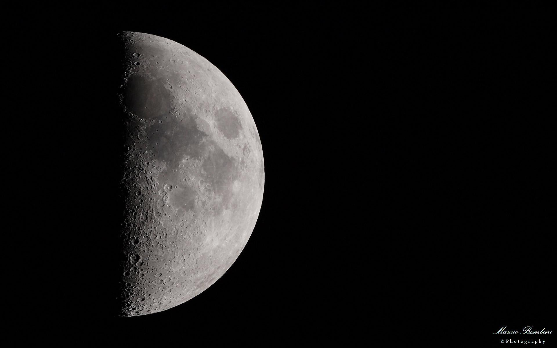 Moon age 7 days...