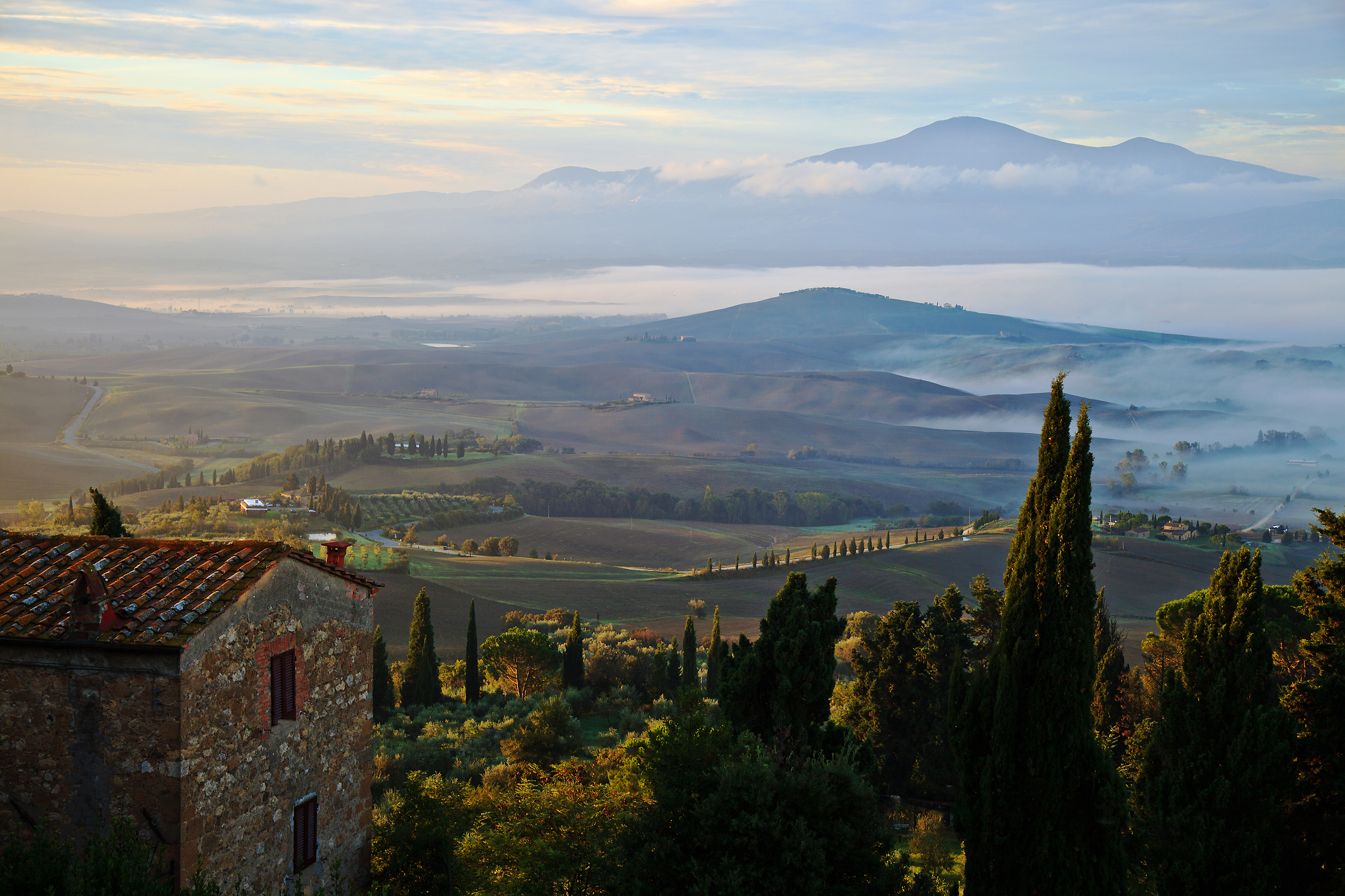 Alba (Val d'Orcia)...