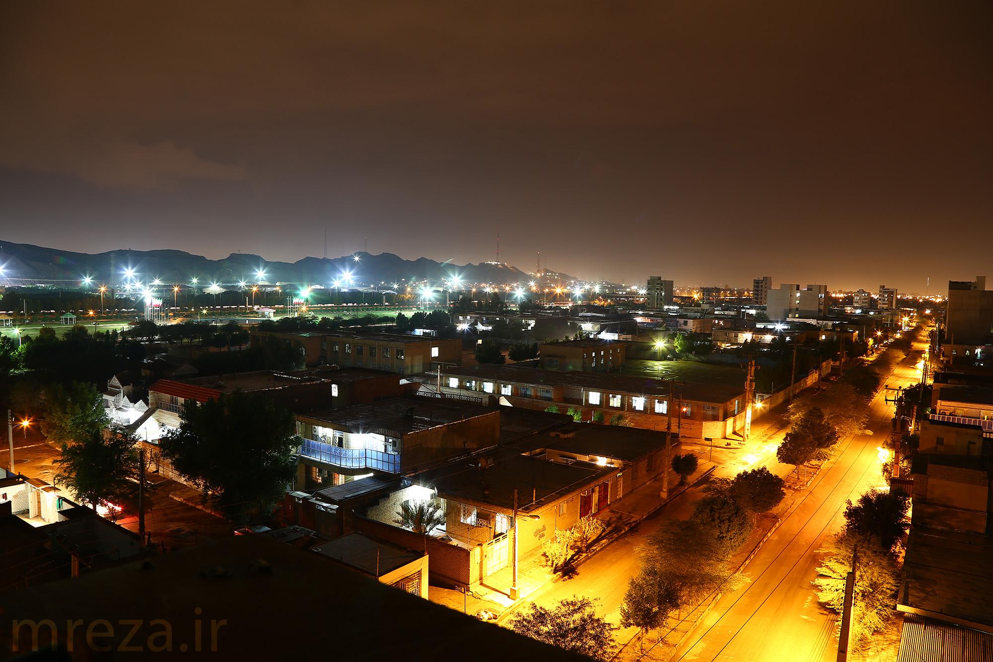 Night in Ahwaz...