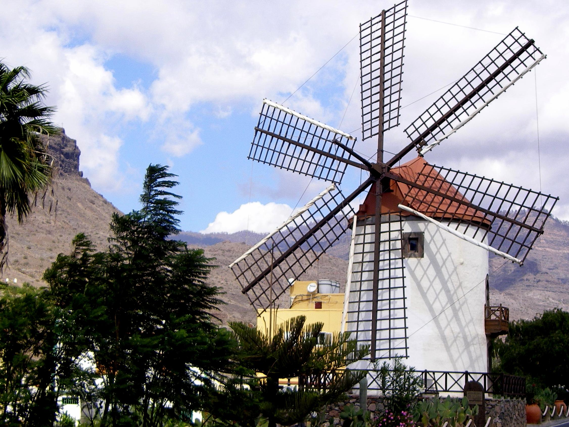 Windmill - Gran Canaria (E)...