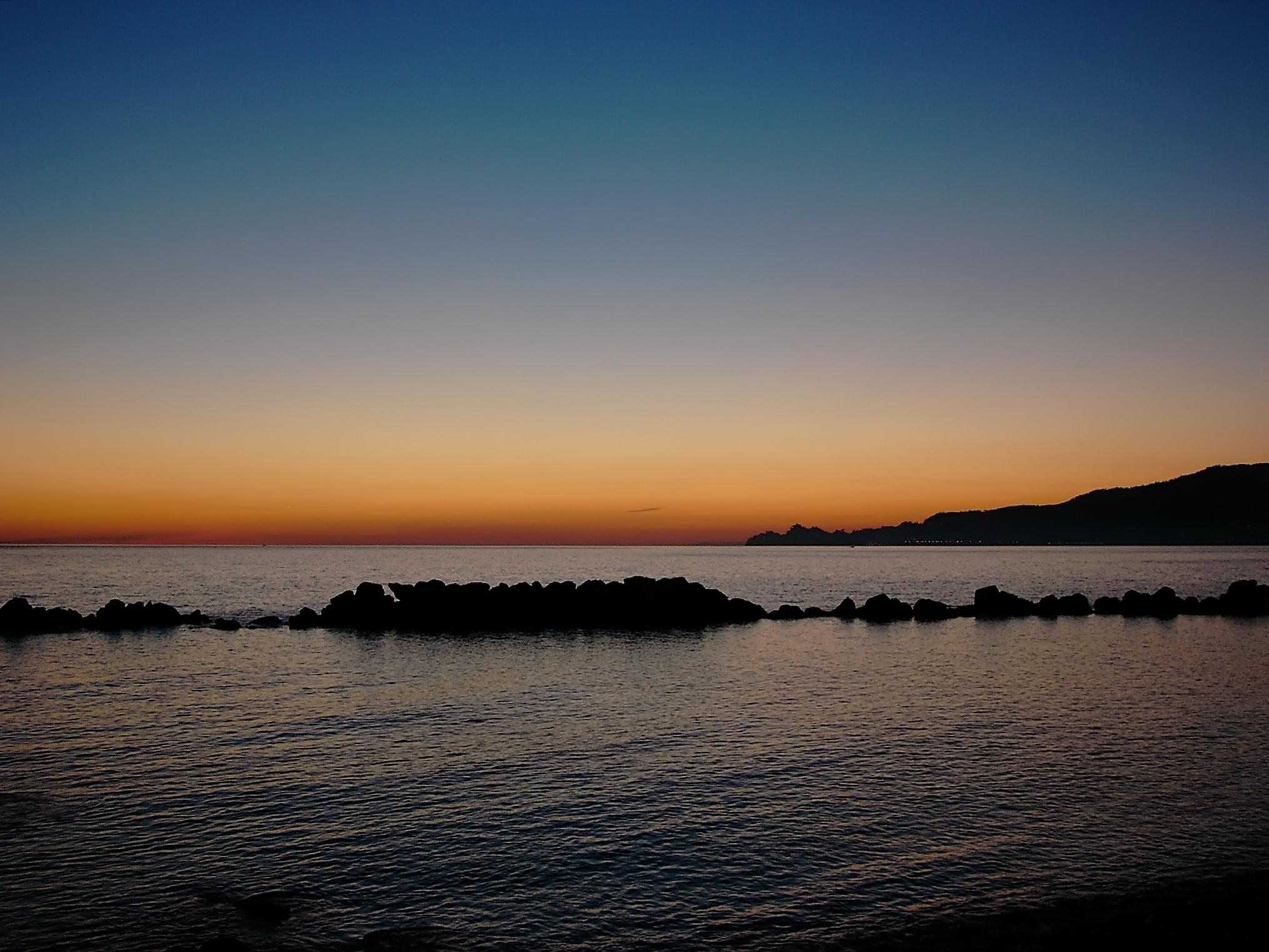Portofino promontory (seen from Chiavari)...