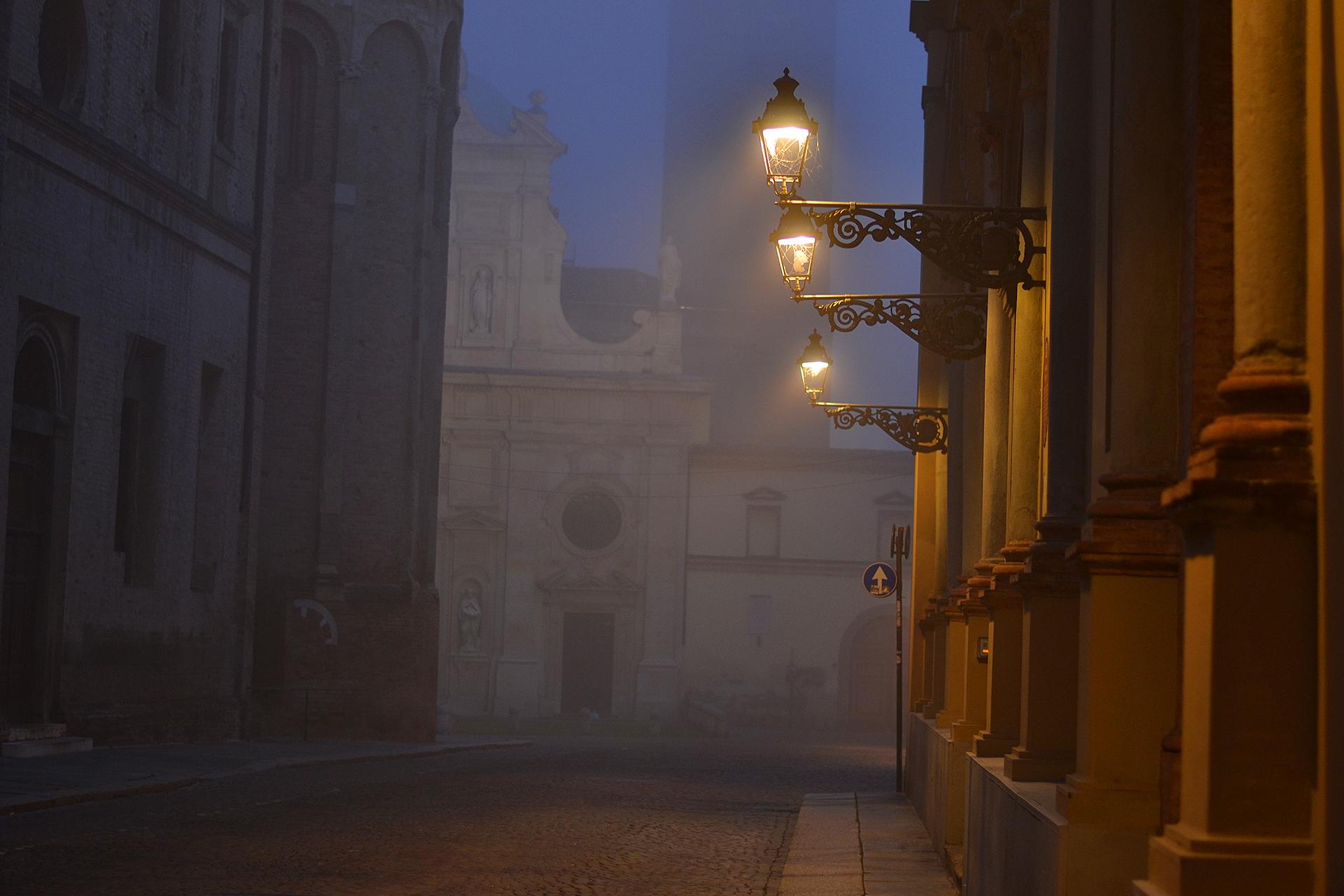 luce e nebbia...