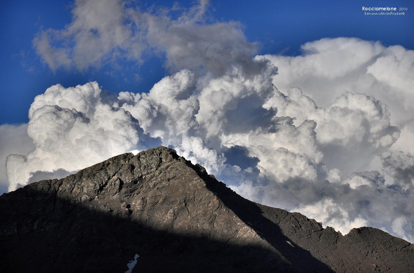 like a volcano.....