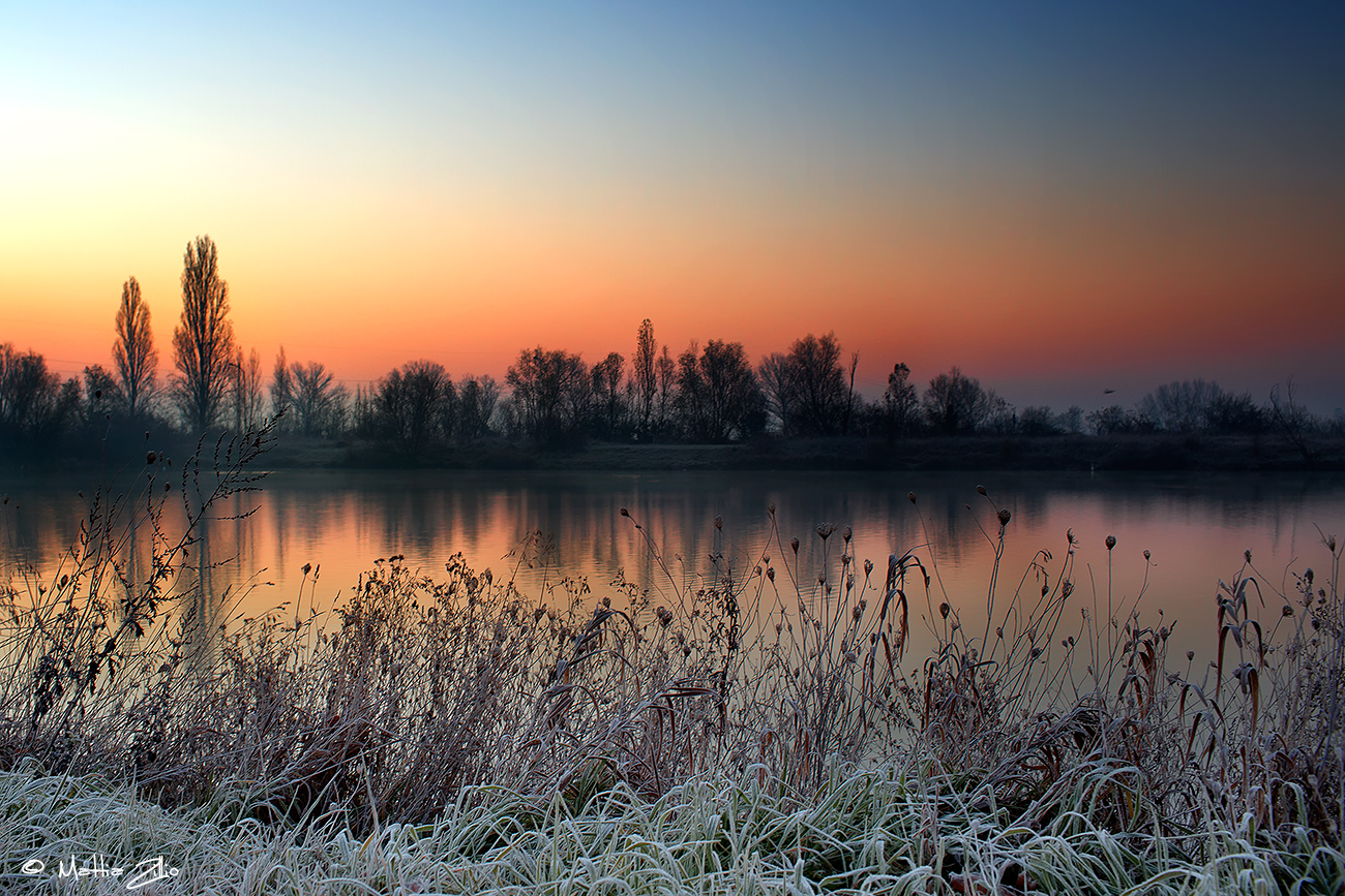 Sunrise on the lake...
