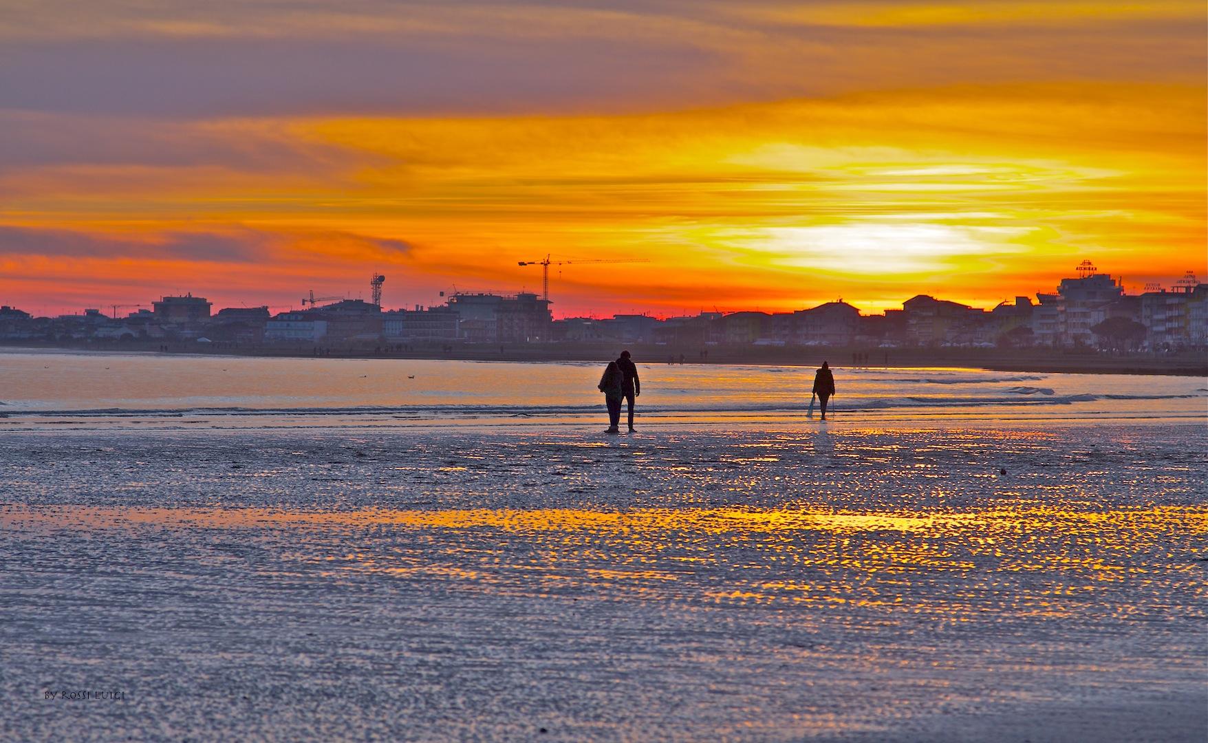 winter sea...