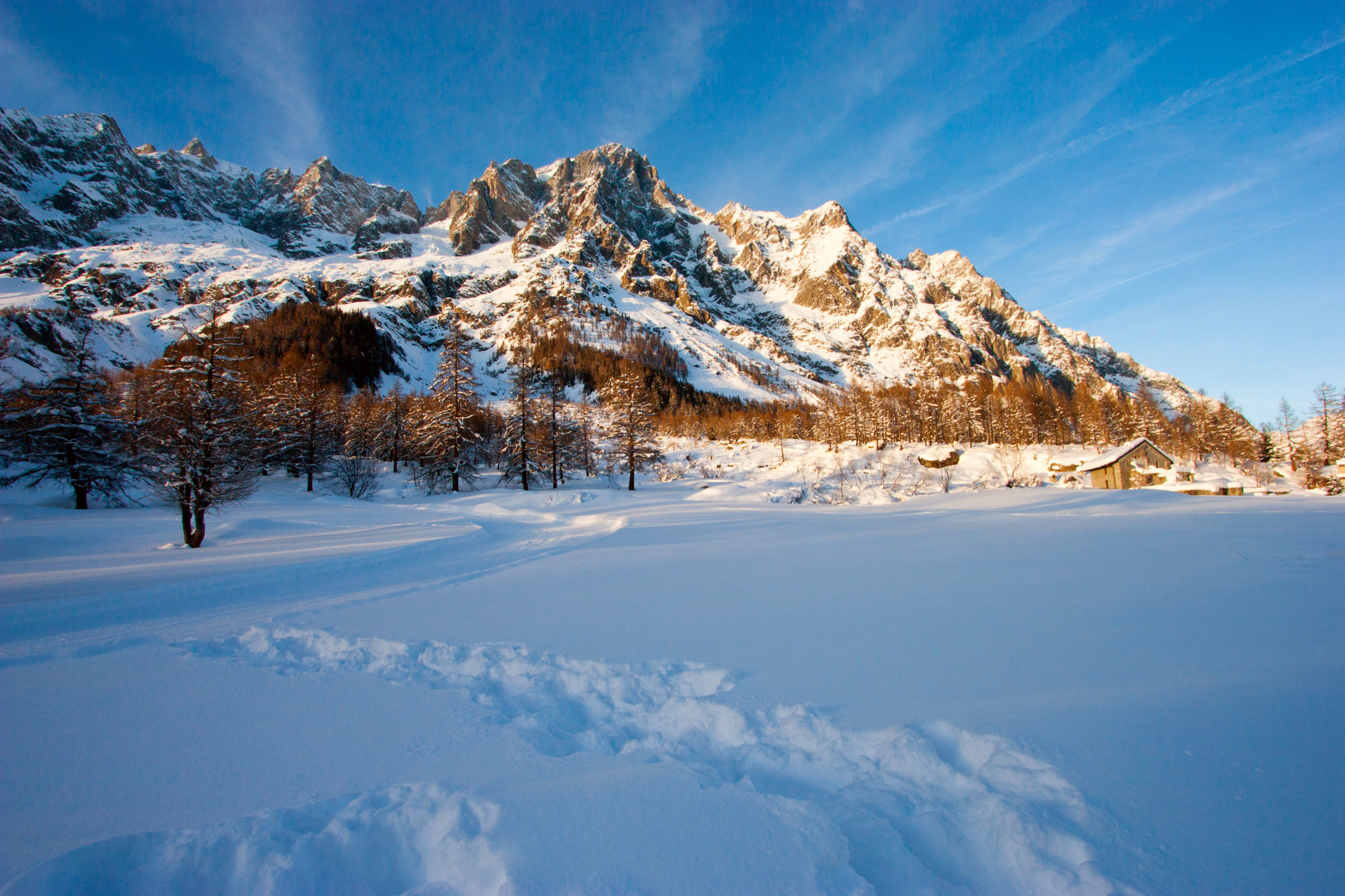 Tramonto in Val Ferret...