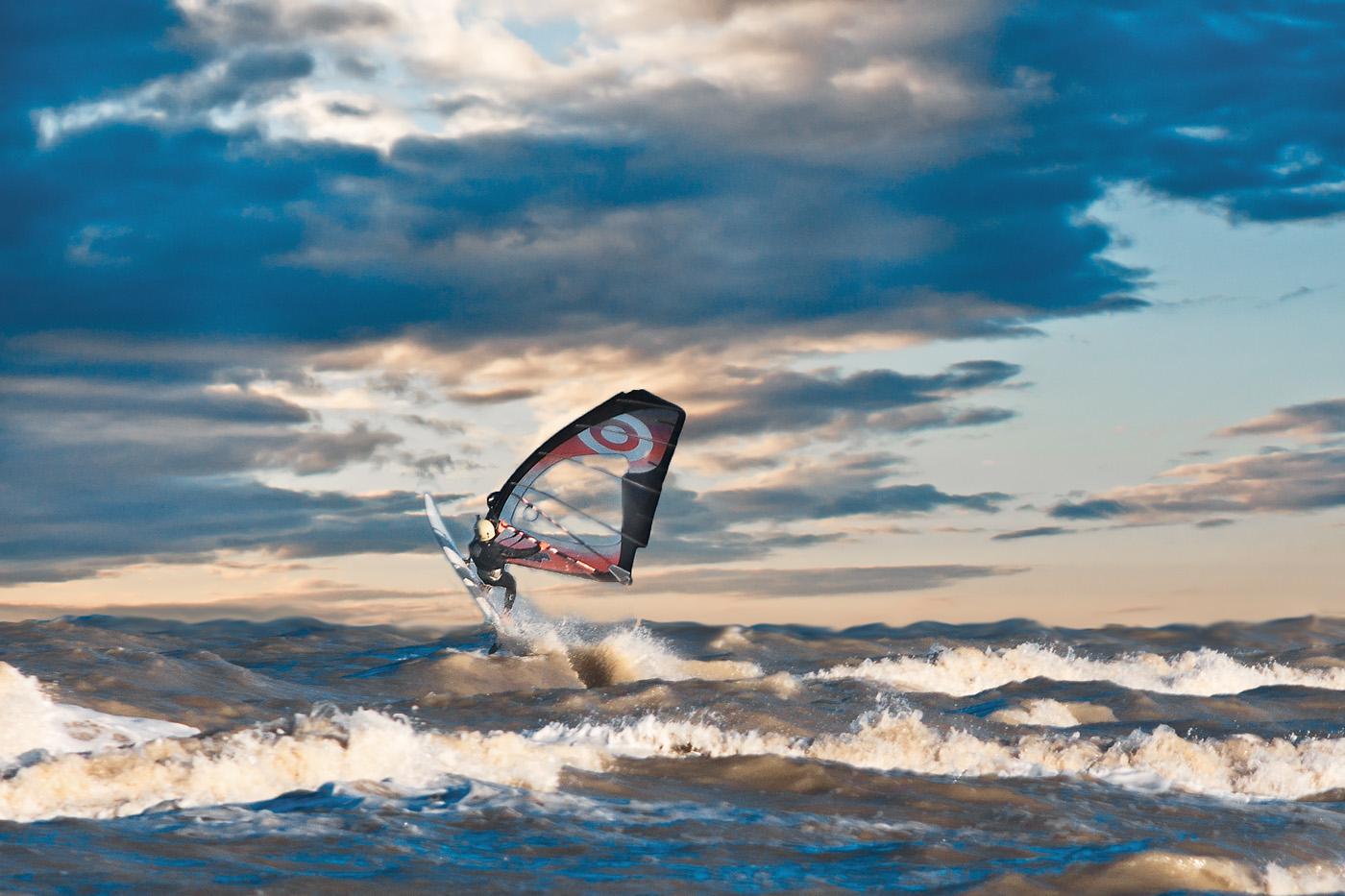 windsurfer...