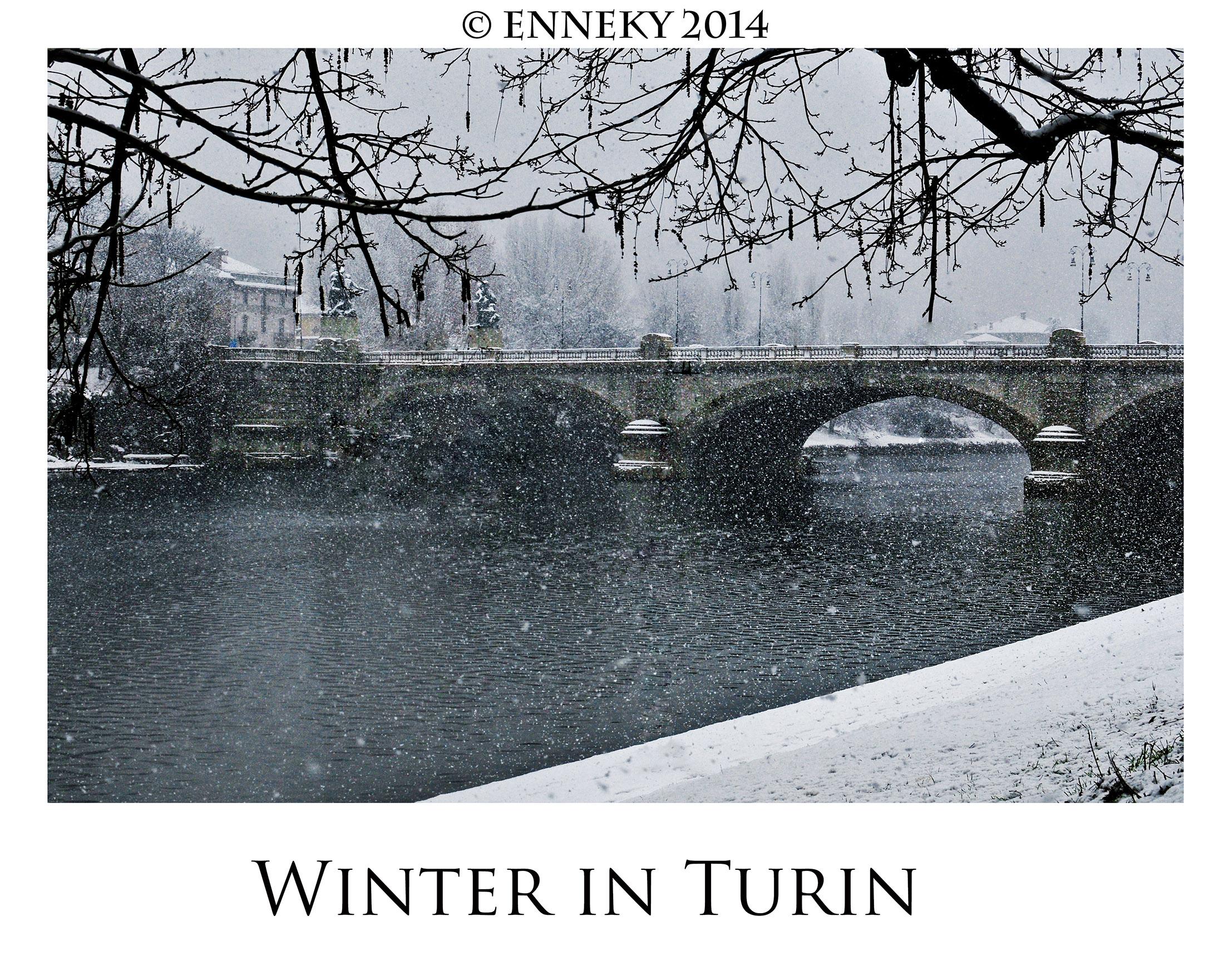 Winter in Turin...