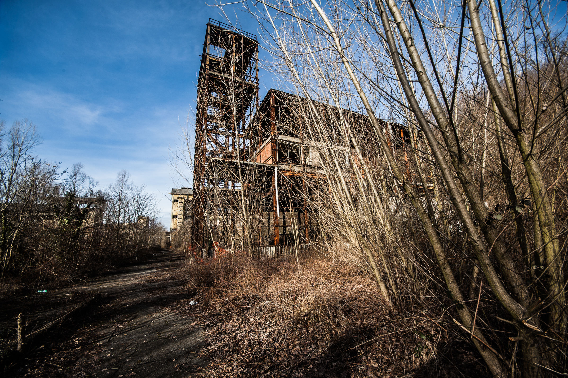 Abandoned factory...