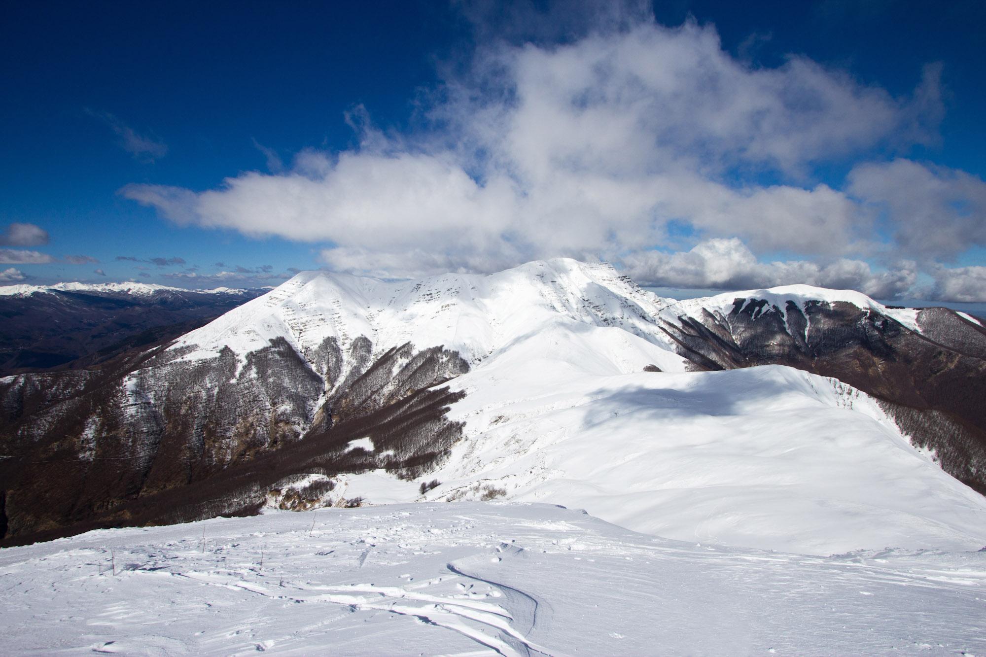 Corno alle Scale dal monte Gennaio...