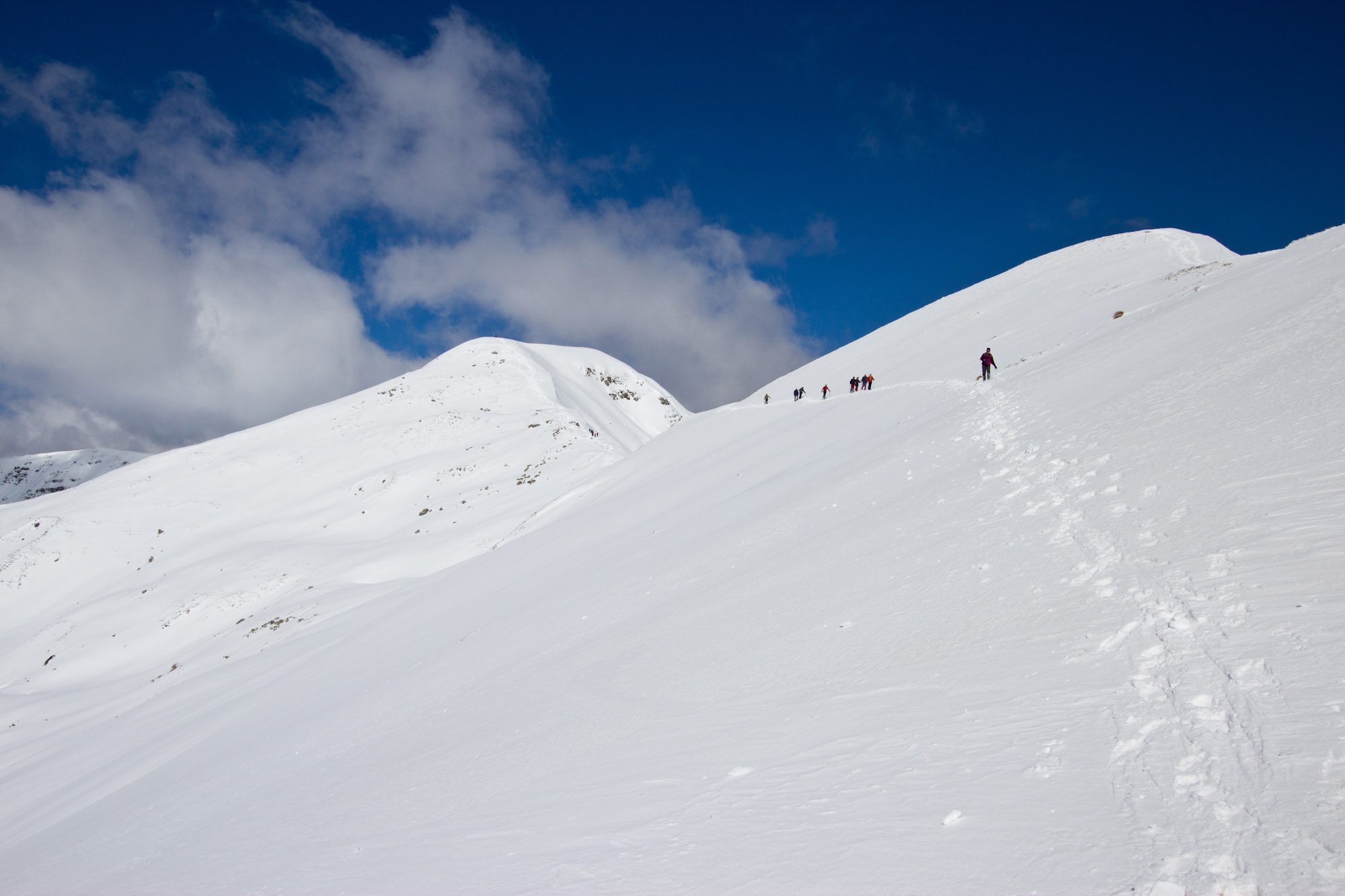 Poggio delle Ignude e monte Gennaio...