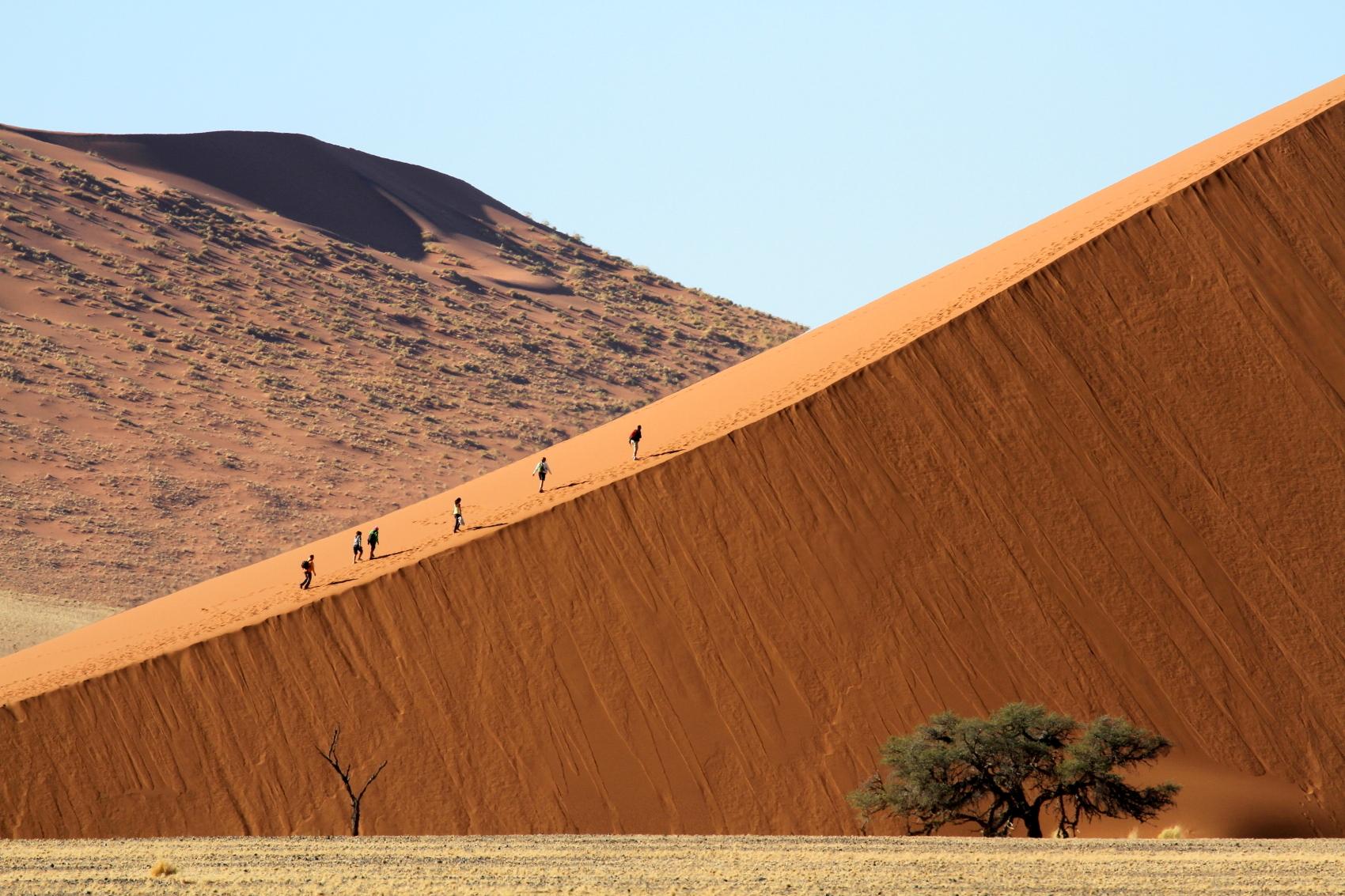 Dunes of Namibia Soussusvlei...