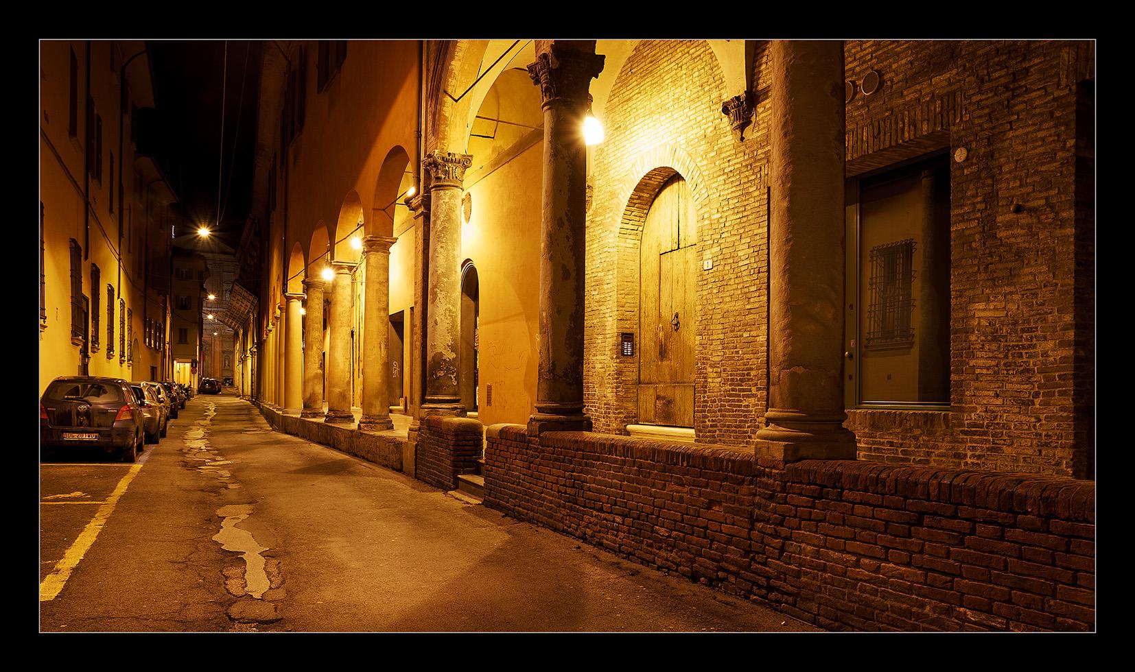 Bologna at night...