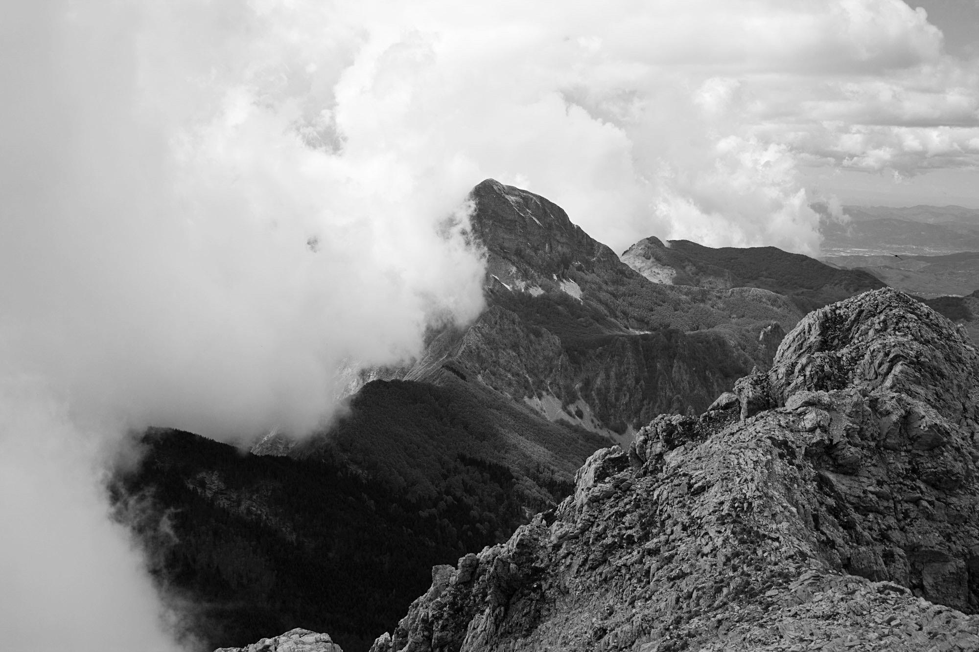 Monte Sagro dal Grondilice, Alpi Apuane...