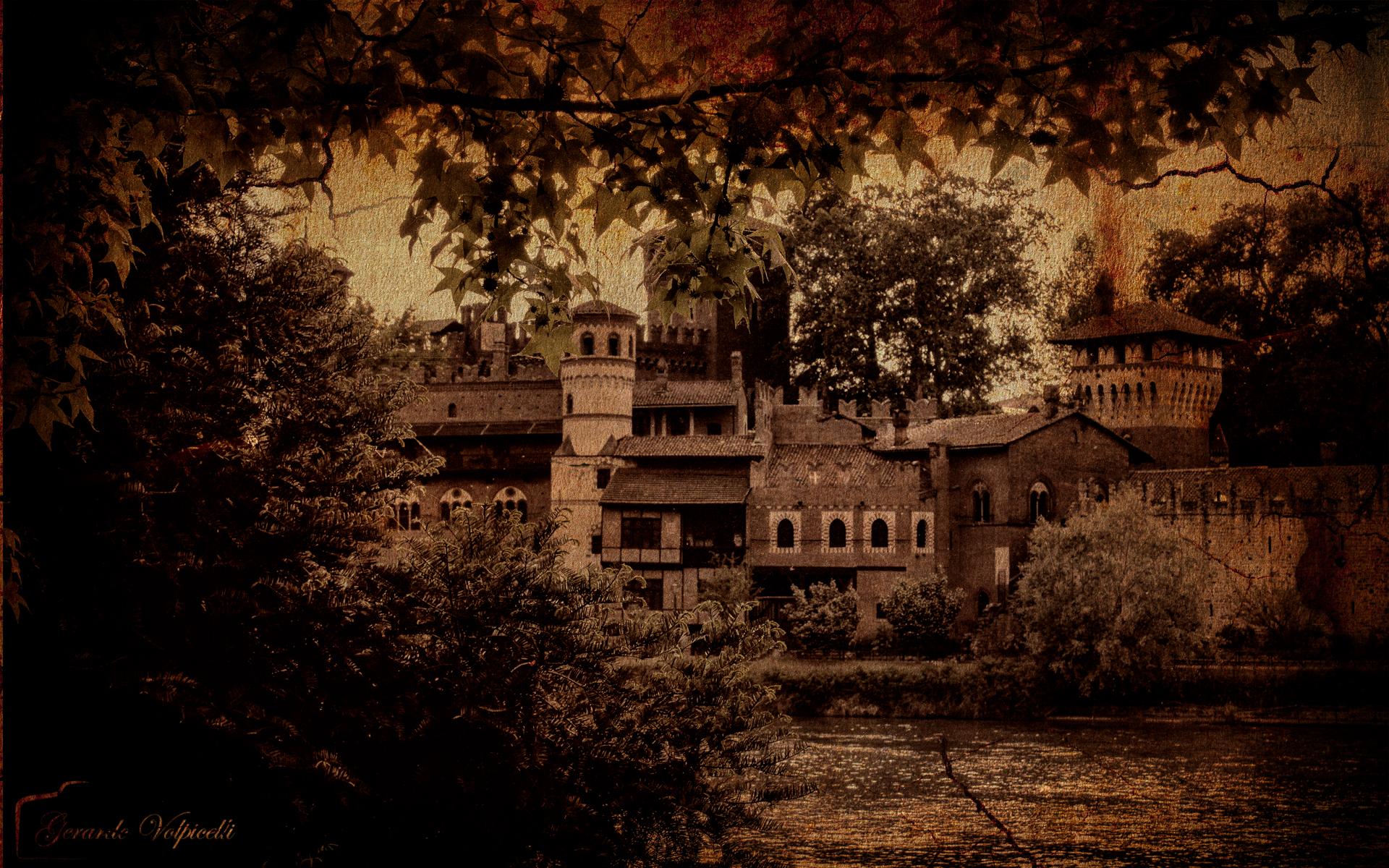 the village...
