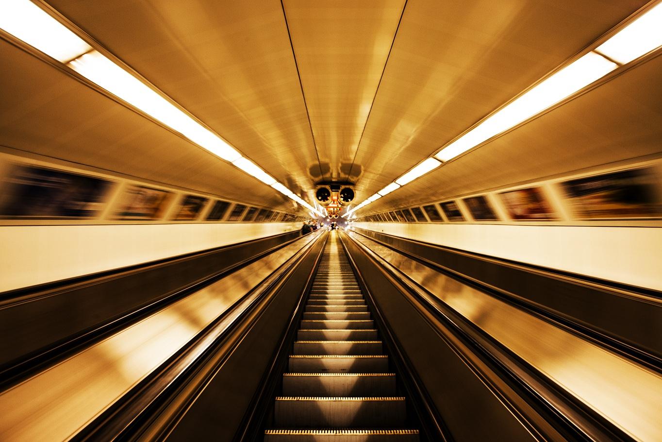 underground on moving...