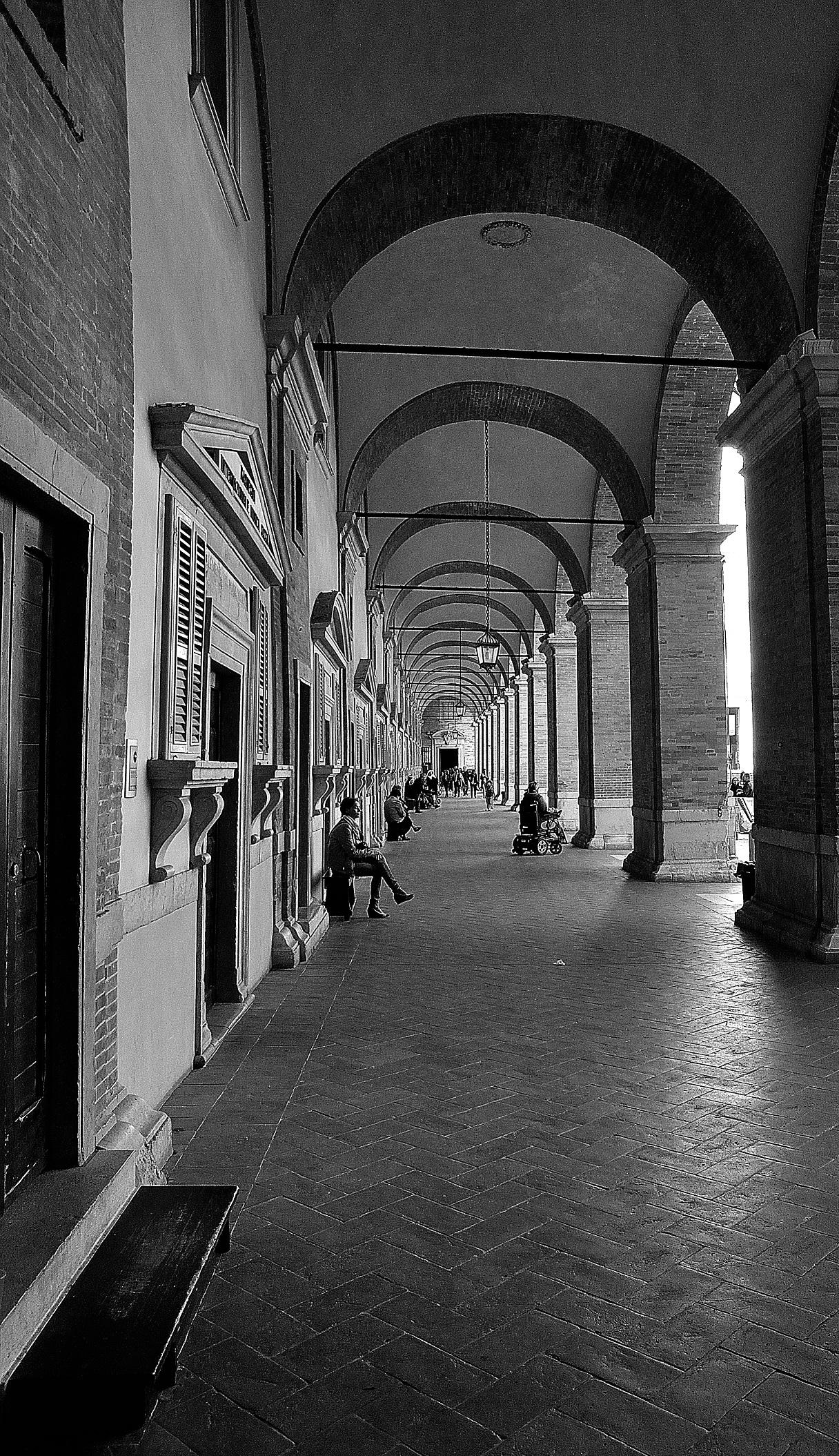 The portico of faith...