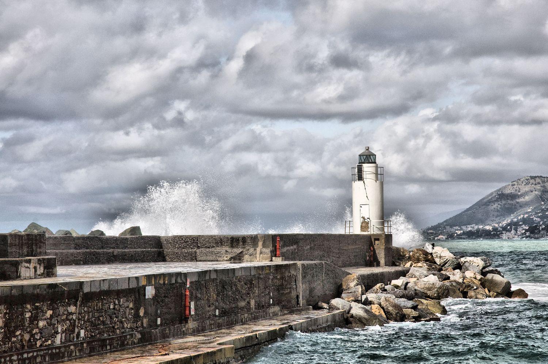 Lighthouse of Camogli...