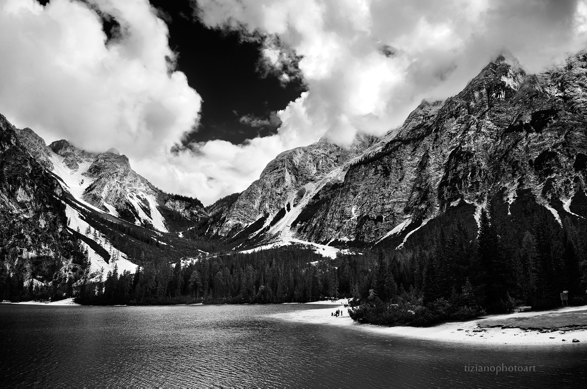 Around the Braies...