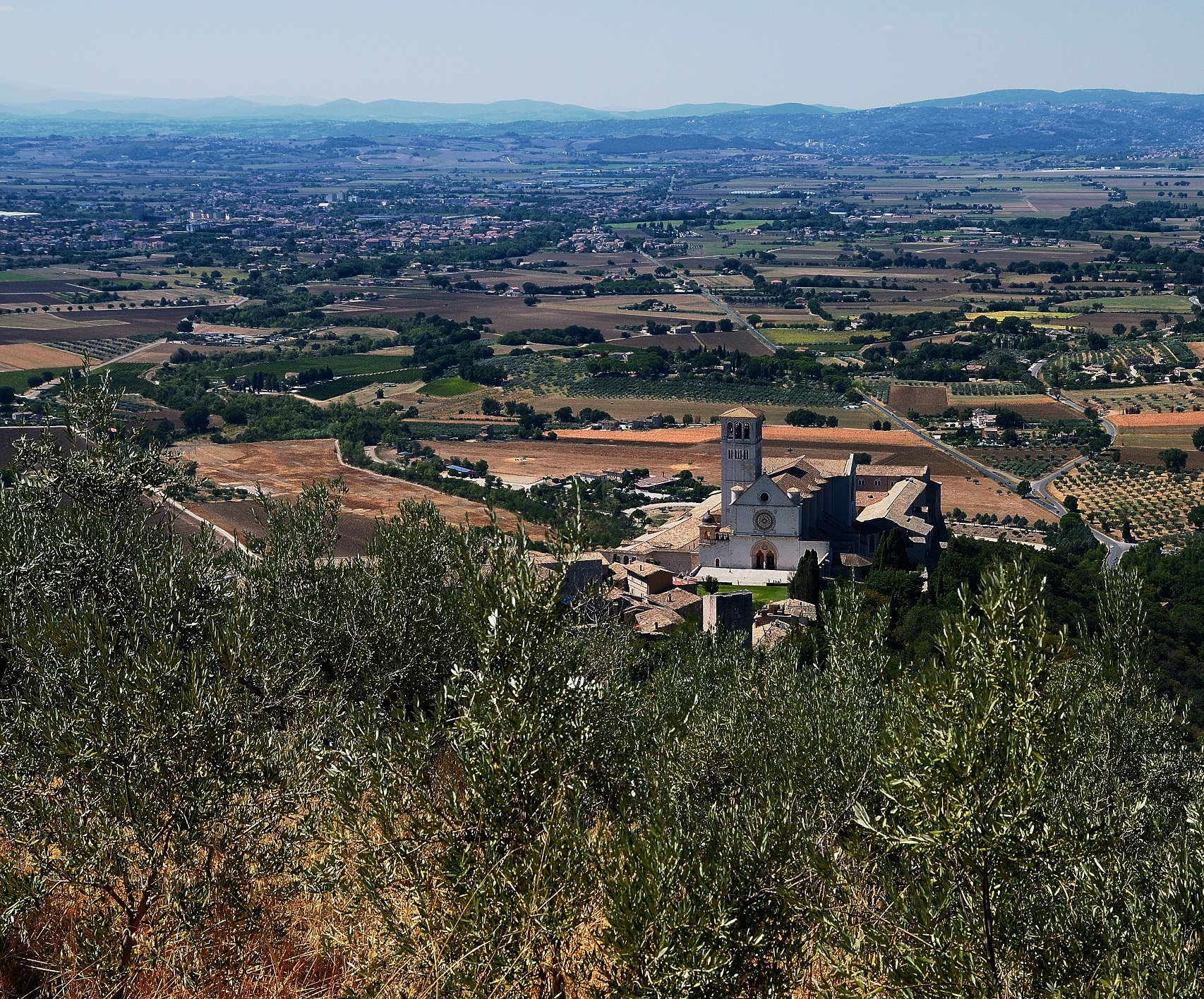 View of Assisi...
